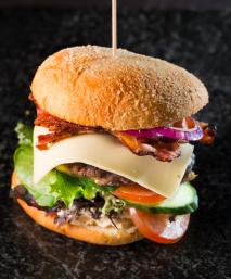 Burger, grill, hagefest